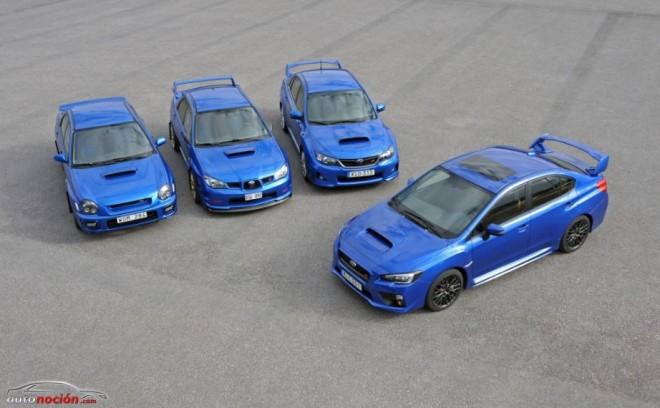 Subaru WRX STI: Mejor que nunca y ahora, único en su especie