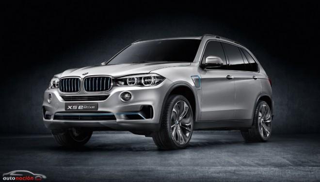 BMW nos muestra el X5 eDrive Concept: Retocado y listo para ir a producción