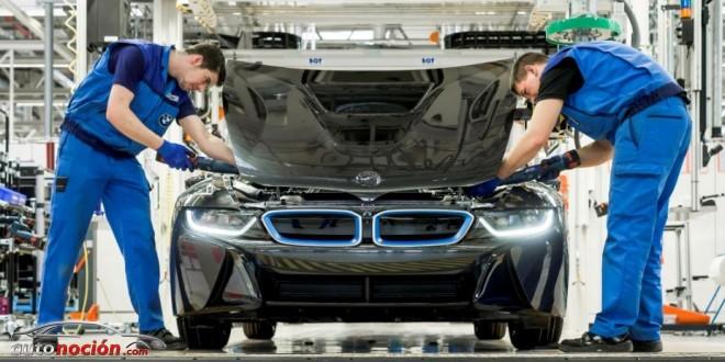 Bmw i8 proceso de producci n fabricaci n y materiales for Magna motors mazda volvo evansville in