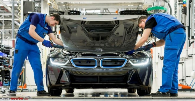 Así se fabrica el BMW i8