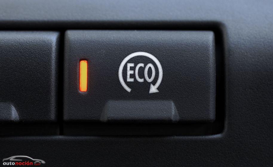 Botón Eco disponible en los modelos con Start/Stop para la desactivación del sistema