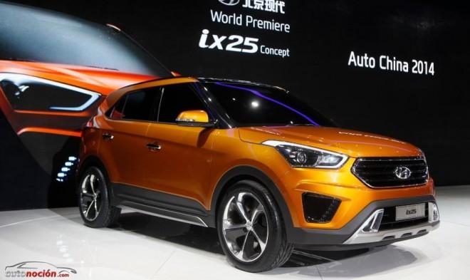Hyundai ix25 Concept Model: A finales de año se comercializará en el mercado chino