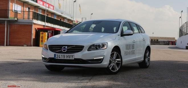 Prueba Volvo V60 Plug-in Hybrid: Así es el primer híbrido enchufable diésel del mercado