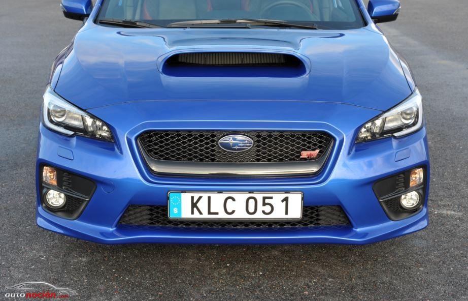 El Subaru WRX STI ya tiene precio: 30,44 euros/Kg