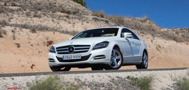 Prueba Mercedes-Benz CLS 350 CDI 7G-TRONIC PLUS: Un lujoso sedán deportivo con estrella