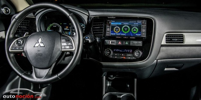 interior phev outlander
