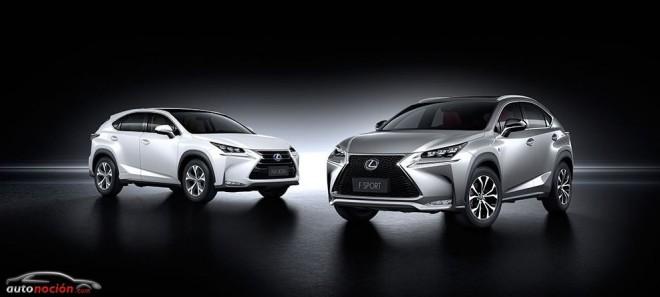 Lexus nos habla un poco más sobre las mototizaciones del NX: NX 300h y NX 200t