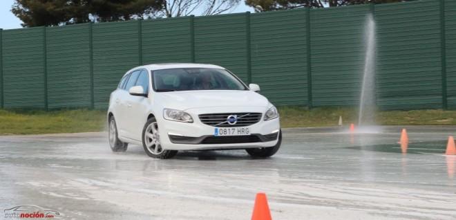 Así fue la Jornada de Conducción Segura de Volvo en el Circuito del Jarama 2014