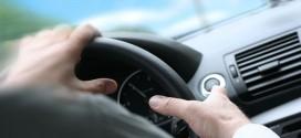 volante conducción