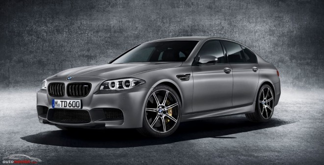 BMW M5 «30 Jahre M5»: 600 cv para celebrar los 30 años del modelo