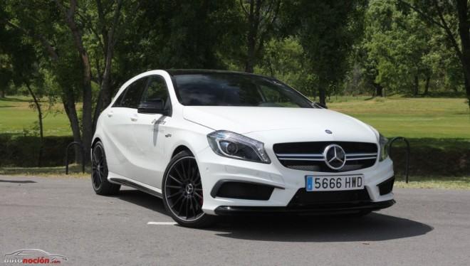 Prueba Mercedes-Benz A 45 AMG 4MATIC: Acceso al mundo AMG con 360 cv bajo el capó