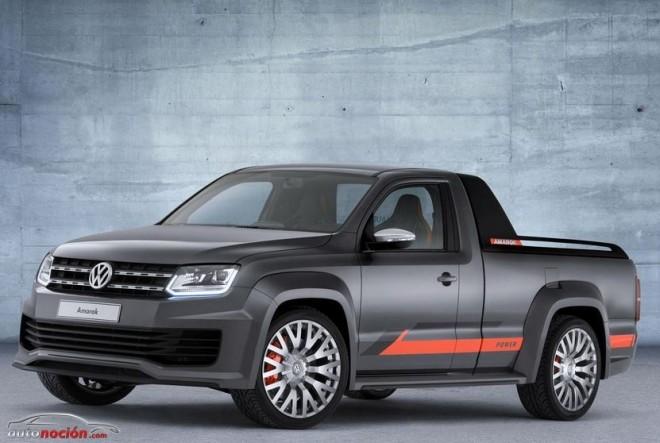 Volkswagen Amarok Power: Otro concept para Wörthersee