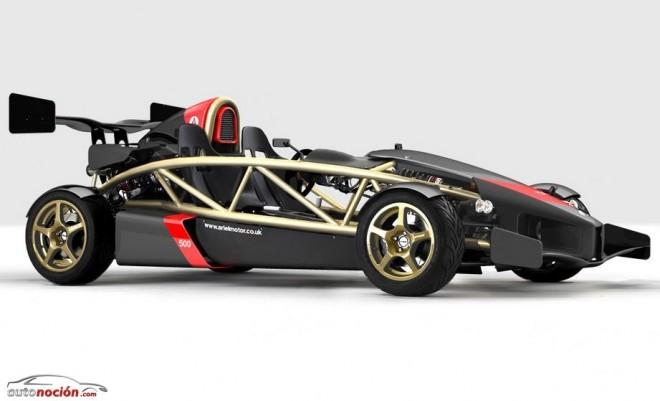Ariel Atom 3.5R: La versión radicalizada con motor de Honda Civic Type R potenciado