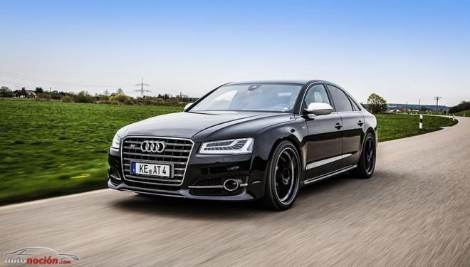 ABT le carga las pilas aún más al Audi S8: 640 cv de músculo alemán