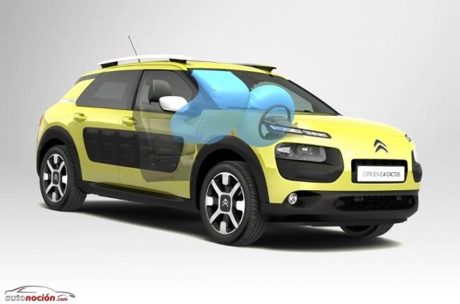Citroën C4 Cactus y los airbag in Roof: Ubicando el airbag del pasajero en el techo…