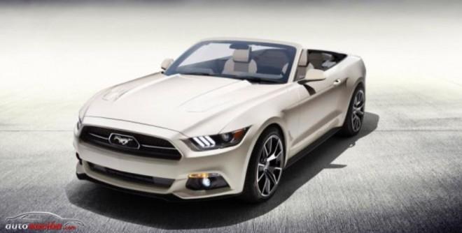 Sólo habrá un único Ford Mustang Cabrio 50 aniversario