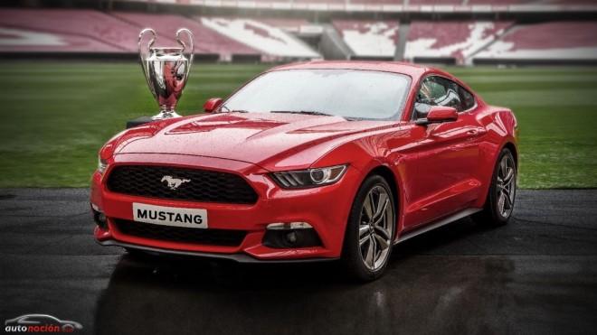 ¿Hay algo mejor que reservar tu Mustang mientras ves la Final de la Champions?