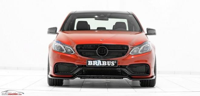BRABUS E63 AMG 850 6.0 Biturbo: El Clase E más salvaje pasa de los 350 km/h