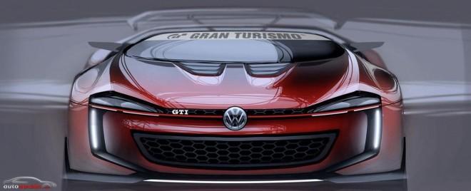 Así es el Volkswagen GTI Roadster Vision Gran Turismo
