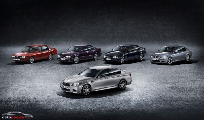 BMW M5: Un icono que cumple 30 años y cuenta ya con 5 generaciones a sus espaldas