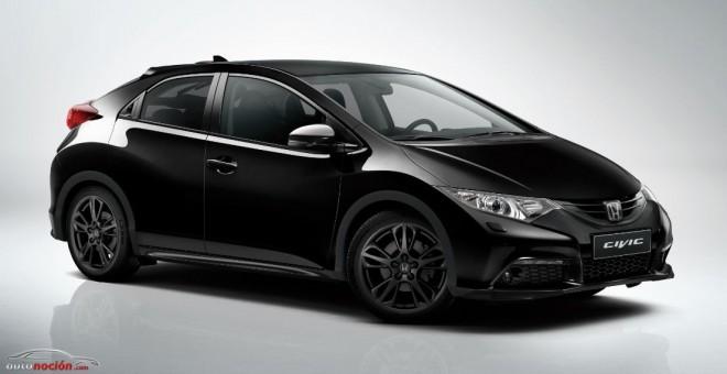 Honda Civic Black Edition: Radicalizando al modelo…