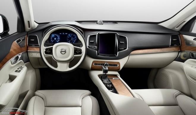 Primeras imágenes y detalles del nuevo Volvo XC90