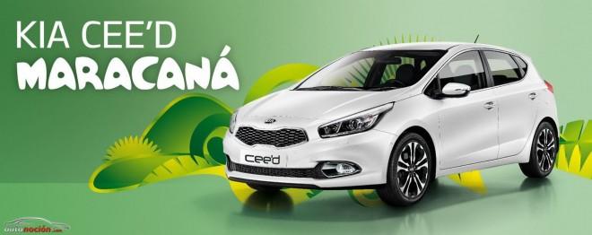 Kia nos presenta su coche para el mundial: Cee'd Maracaná