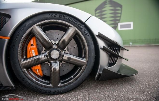 ¿Un juego de llantas de más de 30.000 euros?: Las llantas de fibra de carbono del Koenigsegg One:1
