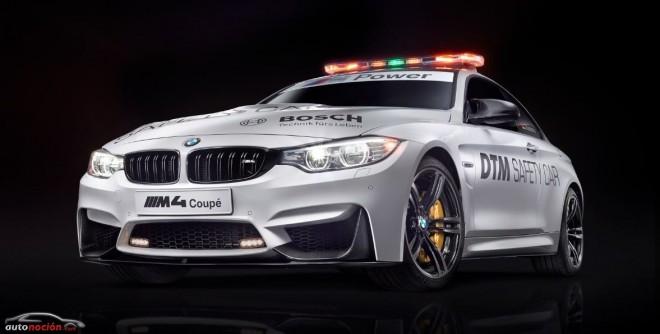 BMW M nos muestra el M4 Safety Car para DTM 2014
