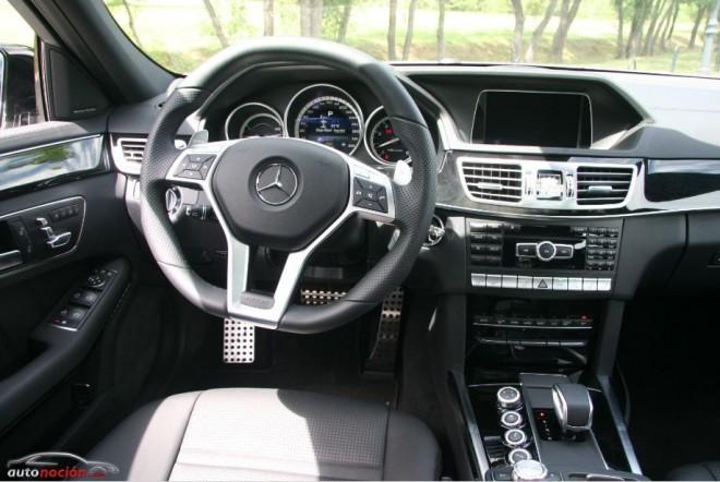 Opinion y prueba mercedes benz clase e 63 amg precio for Interior mercedes clase c