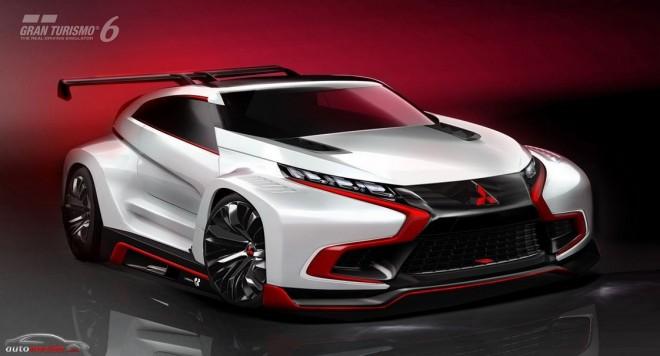 Mitsubishi Concept XR-PHEV Evolution Vision Gran Turismo: La apuesta nipona para GT6