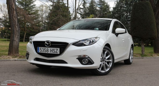 Prueba Mazda3 Luxury 2.2 SKYACTIV-D 150 cv automático: Precisión absoluta