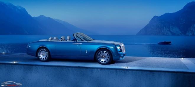Rolls-Royce Phantom Drophead Coupé Waterspeed Collection: Artesanía a prueba de bolsillos