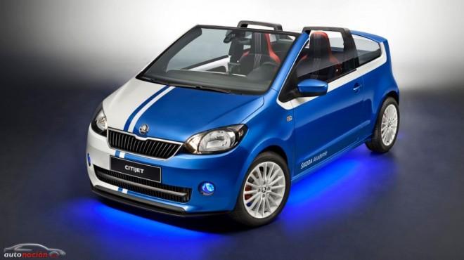 Škoda CitiJet: El descapotable urbano que la marca llevará al Wörthersee Tour
