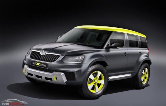 Škoda Yeti Xtreme: La segunda criatura de la marca para Wörthersee