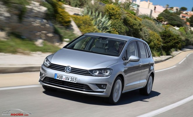 Volkswagen nos muestra al Golf Sportsvan, el sustituto del Golf Plus