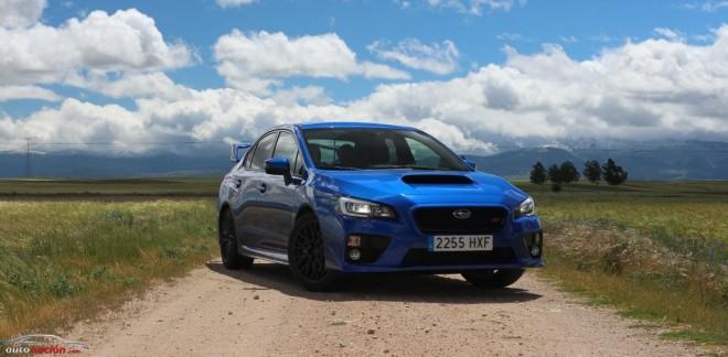 Prueba Subaru WRX STI Rally Edition: El coche de competición con disfraz de calle