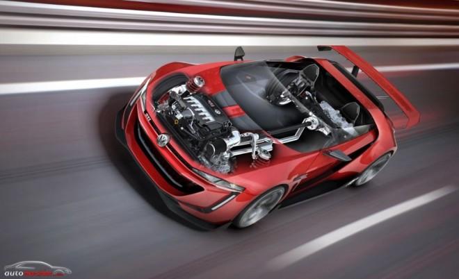 GTI Roadster Vision Gran Turismo: 503 cv que lanzan al prototipo virtual hasta los 309 km/h