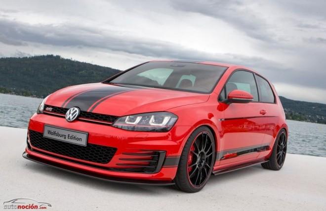 Volkswagen nos muestra el Golf GTI Wolfsburg Edition: 380 cv para el GTI