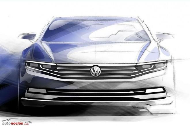 Primeros detalles sobre el futuro Volkswagen Passat