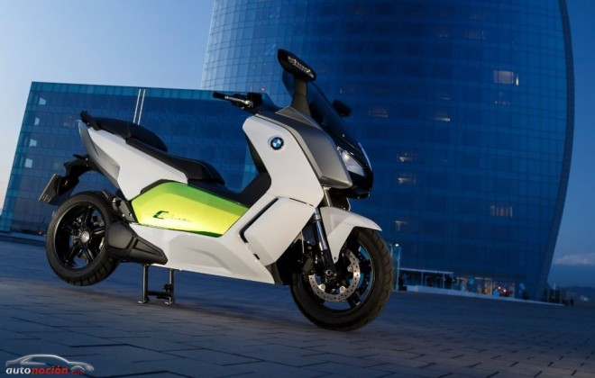 La electrizante BMW C Evolution