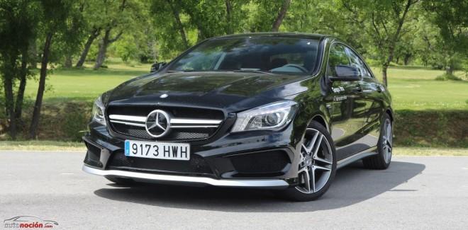 Prueba Mercedes-Benz CLA 45 AMG 4MATIC: El tetracilíndrico más potente del mercado