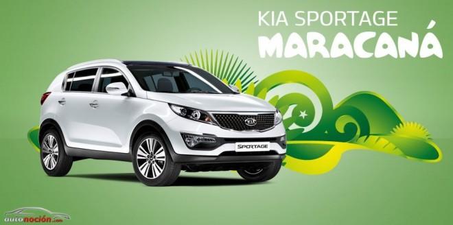 Serie especial Maracaná también para el Kia Sportage