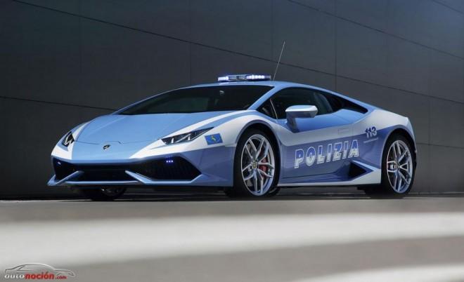 Lamborghini Huracan LP 610-4 para la Polizia italiana: Mamma Mia!