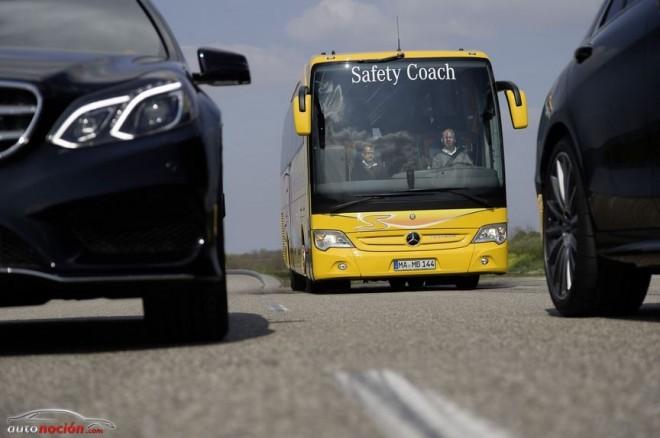 El autobus más seguro del mundo y su tecnología