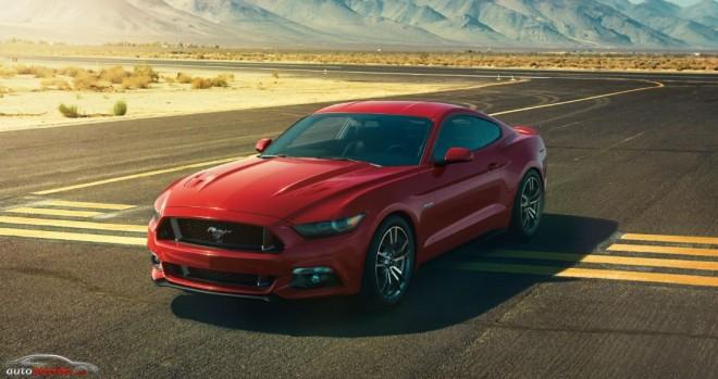 ¿Arrasará el Ford Mustang en Europa?