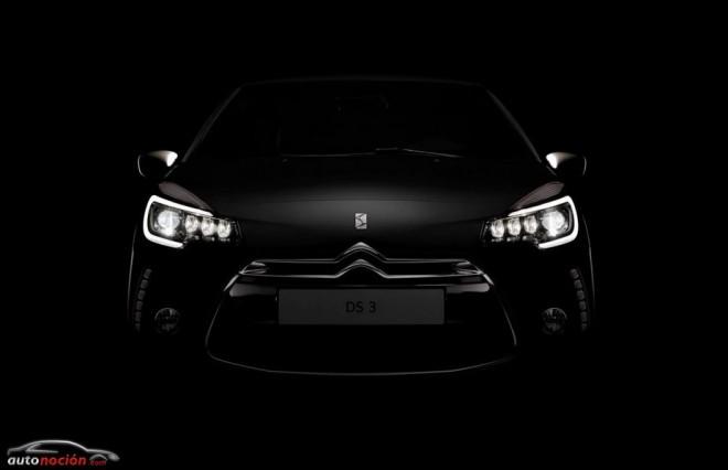 Citroën renueva al DS3: Nuevas motorizaciones, más equipamiento y mejor diseño