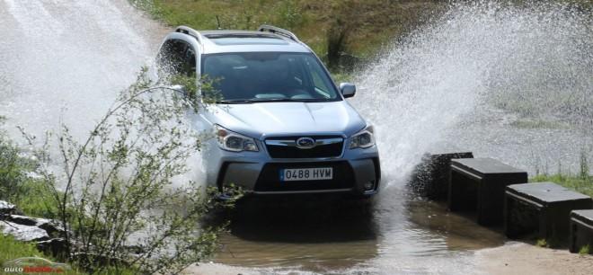 Prueba Subaru Forester 2.0 XT Lineartronic: Poderoso dentro y fuera del asfalto