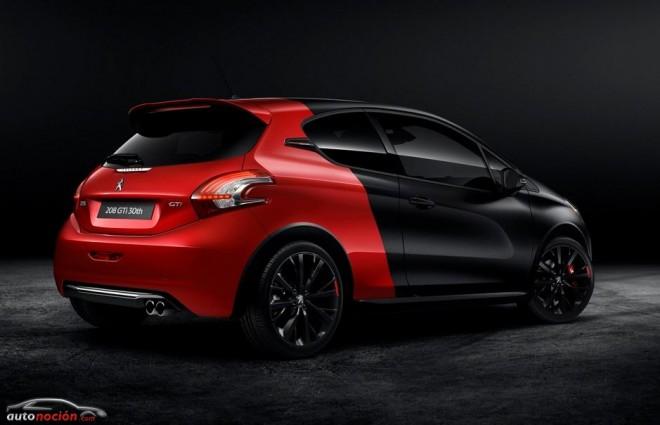 208 GTi 30 aniversario: 208 cv, 300 Nm de par y diferencial de deslizamiento limitado
