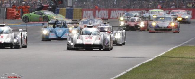 Las 24 horas de Le Mans vuelven a ver un doblete de Audi: Los rivales son cada vez más fuertes